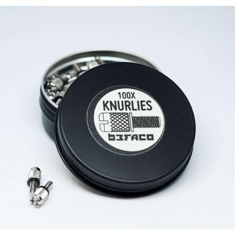 Befaco Knurlies - Eurorack M2.5 Rack Screws x100 pcs. pack
