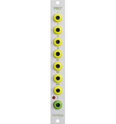 TipTop Audio MIX7 - Analog Summing Mixer