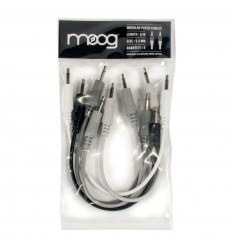 Moog modular patch cable 15cm - 5 pak
