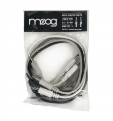 Moog modular patch cable 30cm - 5 pak