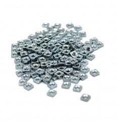Square Sliding Nuts M3 - 100 stk.