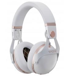 VOX VH-Q1-BK Noise Cancel Silent Studio Hovedtelefoner, Hvid